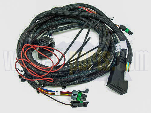26345 3 pin truck side wiring harness for isolation module 3 plug straight blade plow with 6 pin controller
