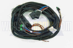 26345 7 pin truck side wiring harness for isolation module 3 plug v blade plow with round 10-pin controller