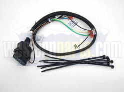 26359 plow side control harness 3 pin 3 plug straight blade western plow