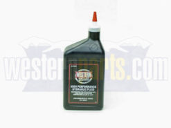 49311 western hydralic fluid quart container