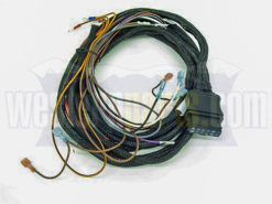 61437 9-pin relay style vehicle side wiring harness for western snow plows