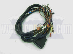 61438 9-pin relay style plow side wiring harness for western snow plows