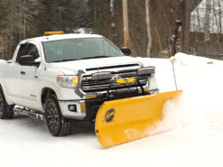 Fisher HT Series Plow On Toyota Tundra