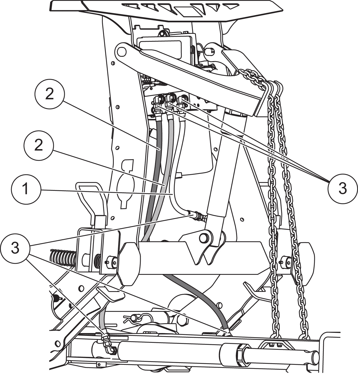 Pro-Plow-and-Pro-Plus-Hoses-and-Fittings-Diagram